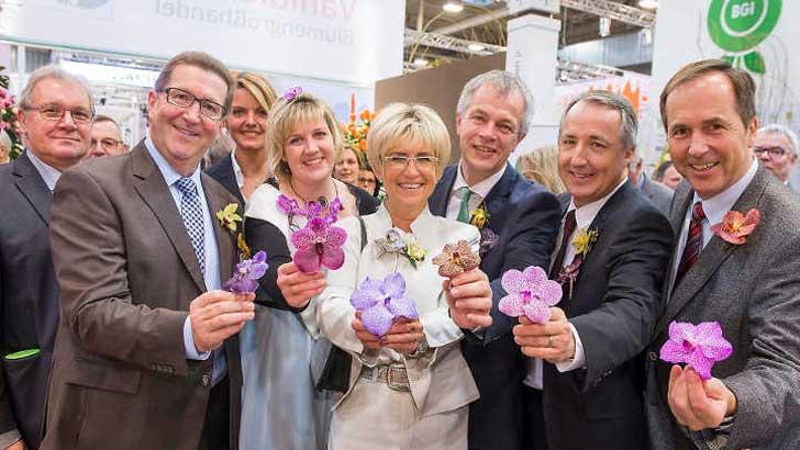 Eröffnung der Pflanzenmesse