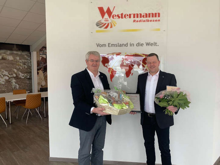 Alfons Westermann und Andreas Menger