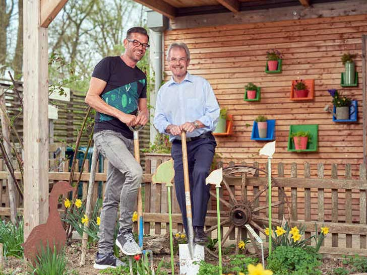 Karl Ploberger und Karl Wilfing