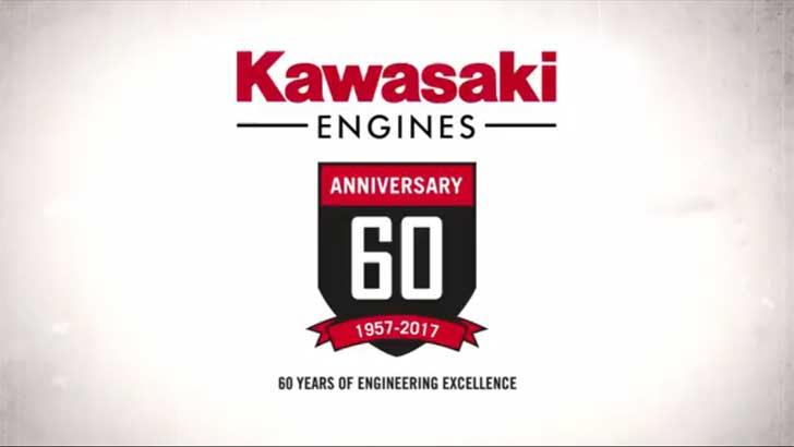 60 Jahre Kawasaki Motoren