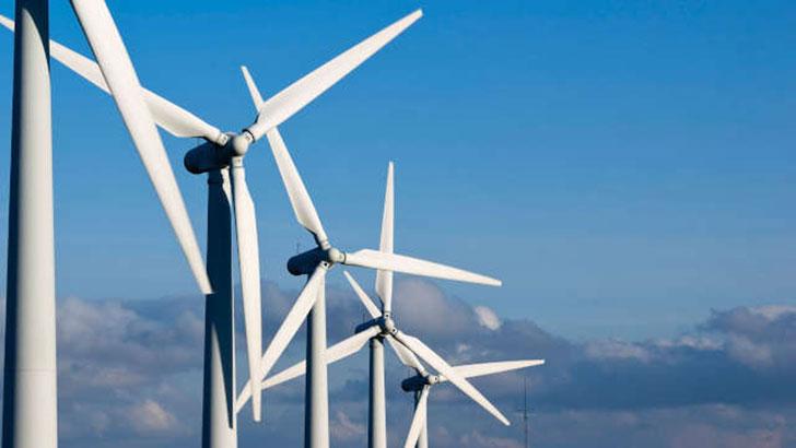 Energieerzeugung mit Windkraft