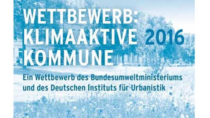 Klimaaktive Kommune 2016