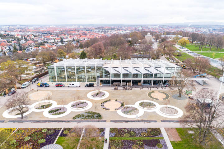 Außengestaltung auf der Bundesgartenschau 2021