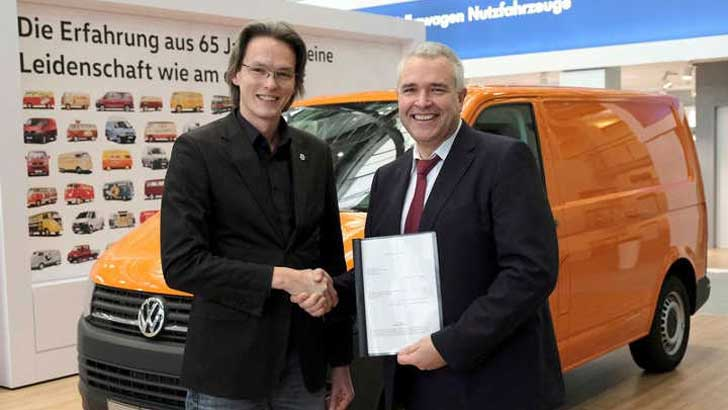 Volkswagen Nutzfahrzeuge und Handwerks-Junioren unterzeichnen Kooperationsvereinbarung