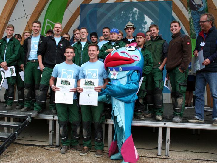Sieger Landschaftsgärtner-Cup 2015