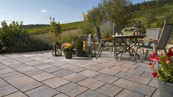 Mehr Gestaltungsmöglichkeiten mit neuen Terrassenplatten