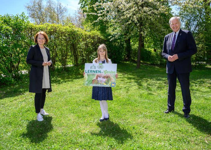"""Neue Plattform """"Lernen im Garten"""" für Schulen online"""