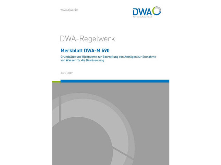 Merkblatt DWA-M 590