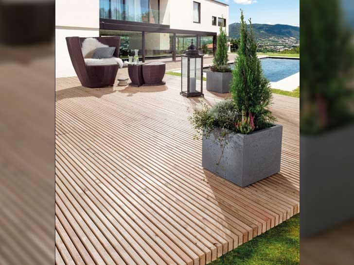Mocopinus-Holz Terrassendielen