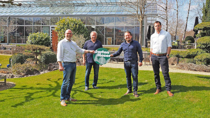 Garten-Moser mit neuer Doppelspitze – Verantwortung in vierter Generation
