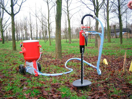 TERRA TREE Bodensanierungsmaschine