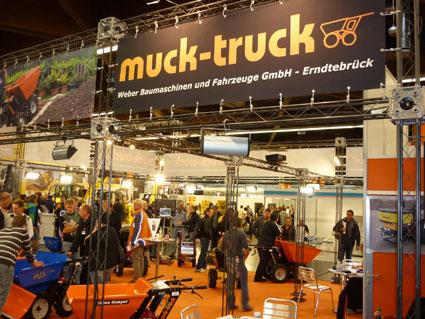 Muck-Truck Messestand