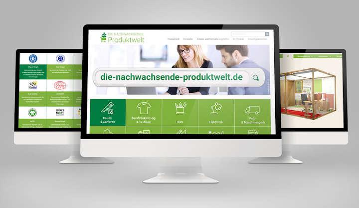 """Marktrecherche mit Hilfe der FNR-Datenbank """"Nachwachsende Produktwelt"""""""