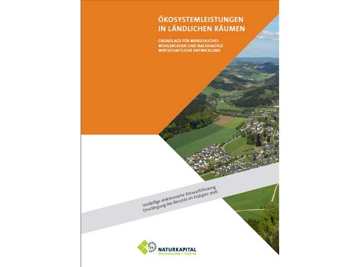 Teilstudie Naturkapital Deutschland