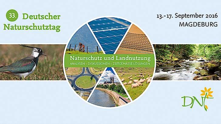 Programmübersicht zum 33. Deutscher Naturschutztag (DNT) veröffentlicht