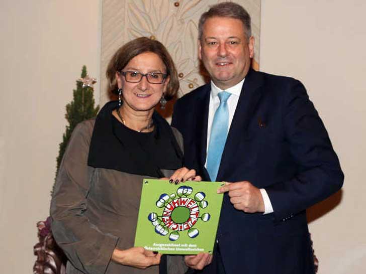 Johanna Mikl-Leitner und Andrä Rupprechter