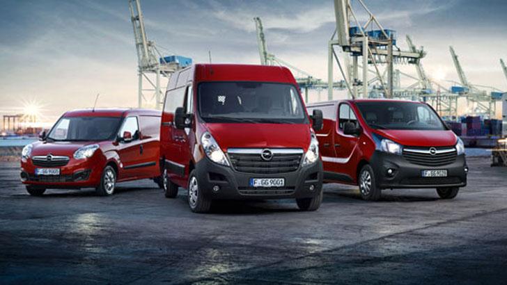 Opel Vivaro, Movano und Combo