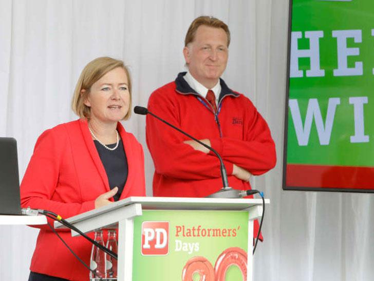 Britta Wirtz und Oliwer Sven Dahms