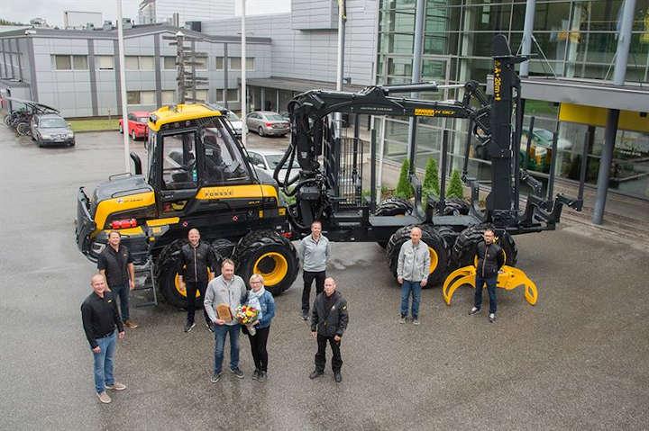 Ponsse fertigt seine 17.000ste Forstmaschine