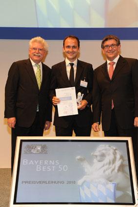Auszeichnung BAYERNS BEST 50