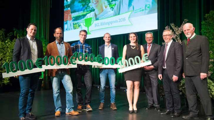 Gewinner BGL-Bildungspreis