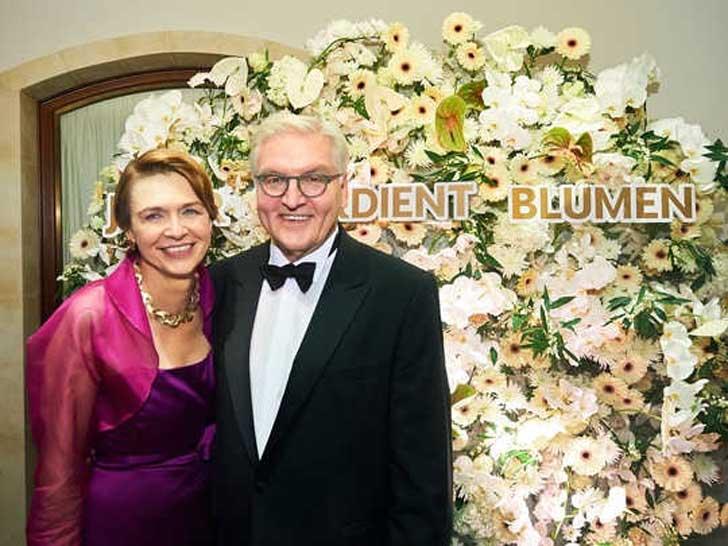 Frank-Walter Steinmeier und seine Frau