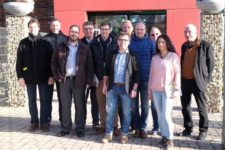 Mitglieder des BVE-Vorstandes