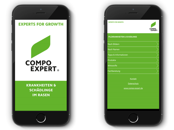 COMPO EXPERT Rasen App
