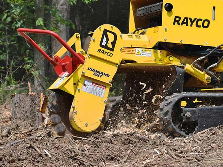 Baumstubbenfräse Rayco RG 45 Kette