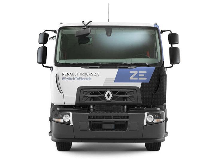 A+T Nutzfahrzeuge erhält den ersten elektrischen Renault Truck Deutschlands