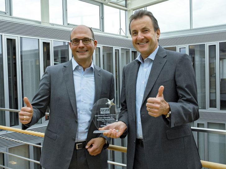Wolfgang Hahnenberg und Peter Schrader