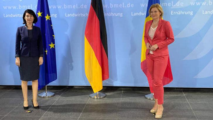 Bundeslandwirtschaftsministerin empfängt rumänische Arbeitsministerin Violeta Alexandru