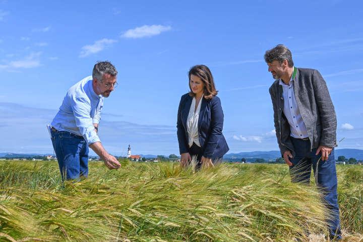 Ministerin Michaela Kaniber besucht mittelständisches Pflanzenzucht-Unternehmen in Niederbayern