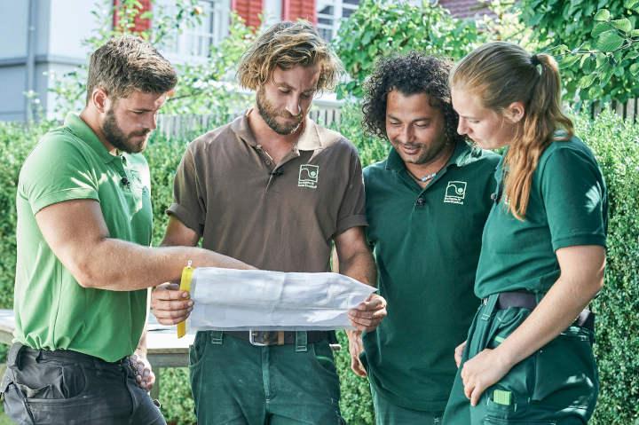 Vorbildliche Ausbildungsbetriebe im Garten- und Landschaftsbau erhalten Staatsehrenpreis