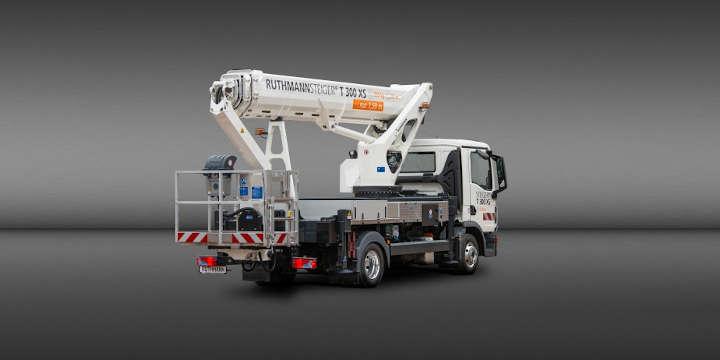 Kürzere Fahrzeuglänge, höhere Reichweite – der neue 30-m-STEIGER® T 300 XS von RUTHMANN