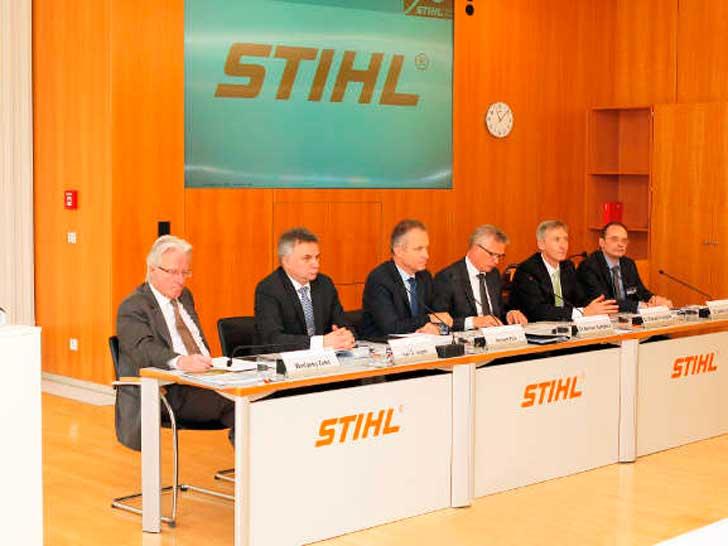 STIHL Bilanz-Pressekonferenz
