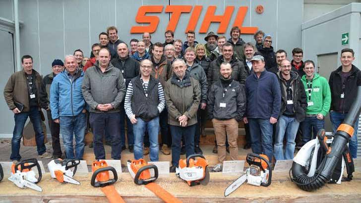 zu Besuch bei der Firma Stihl