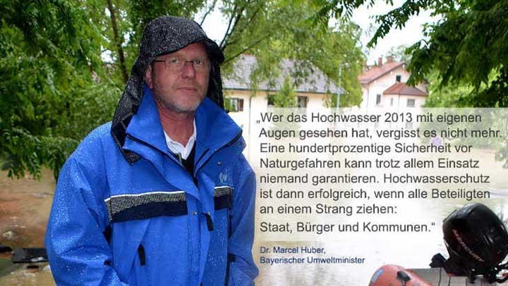 Schutz vor Sturzfluten