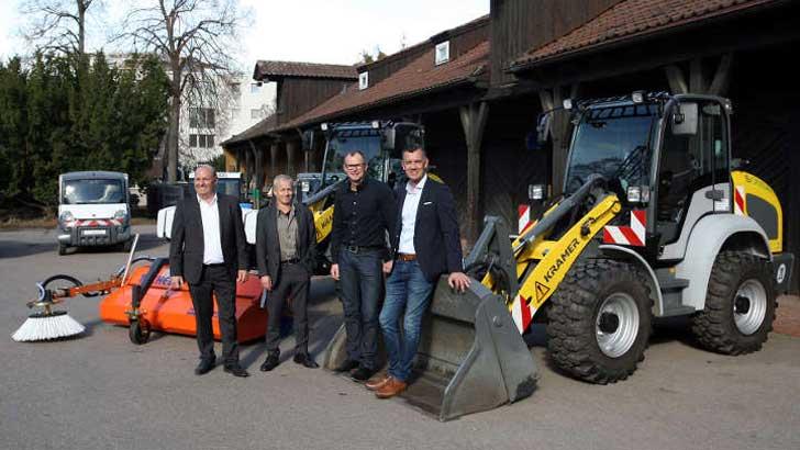 eberle-hald übergibt erste Elektro-Radlader an Stadt Stuttgart