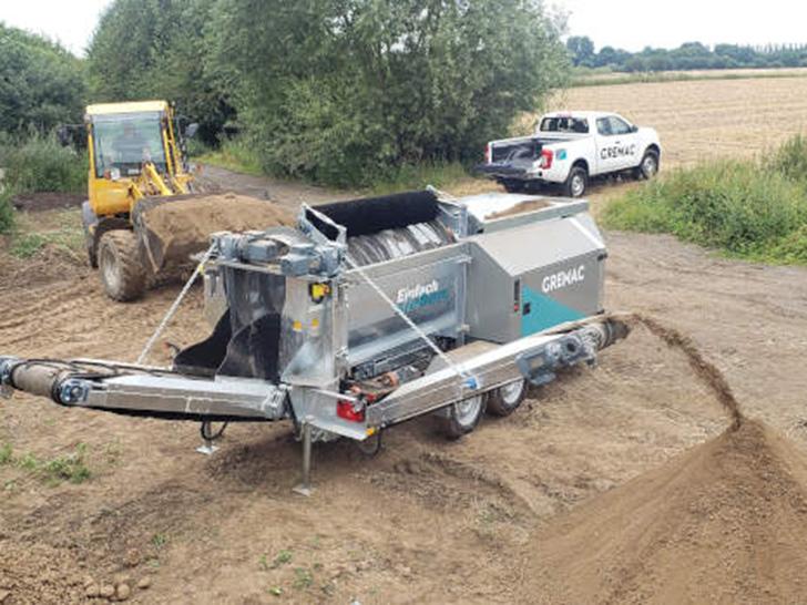 Aufbereitung von Böden