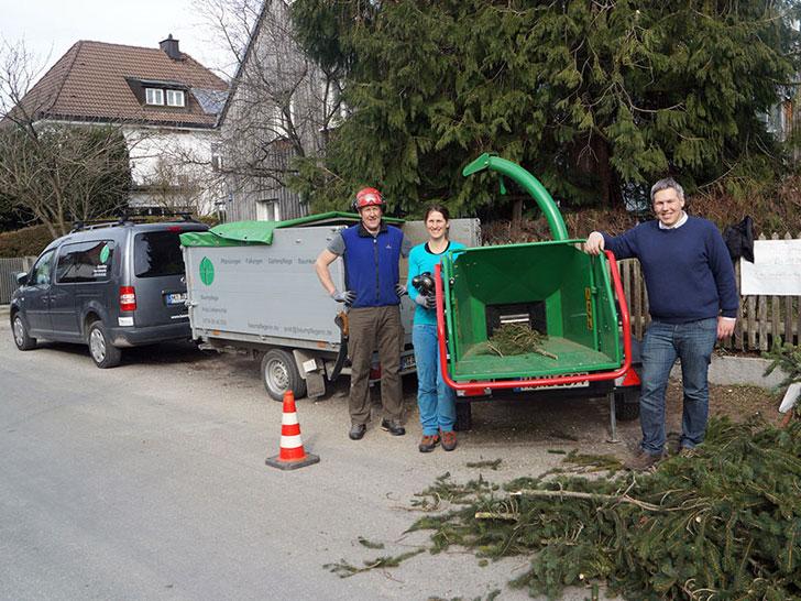 Baumpflegeteam