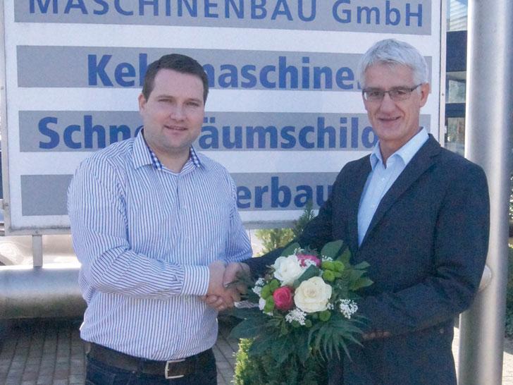 Dennis Schürmann und Dieter Beckmann