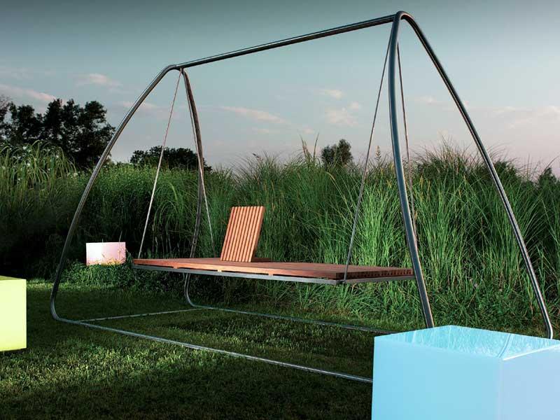 starke farben und l ssige schaukeln das sind die outdoor trends 2013 2014. Black Bedroom Furniture Sets. Home Design Ideas