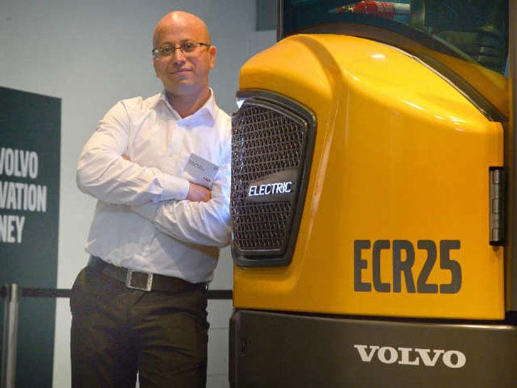 Elektromobilität bei Volvo CE