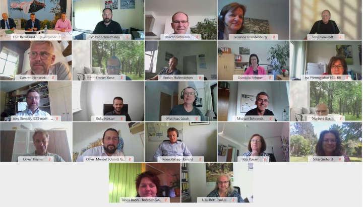 FGL Berlin und Brandenburg: Erstmals digitale Mitgliederversammlung