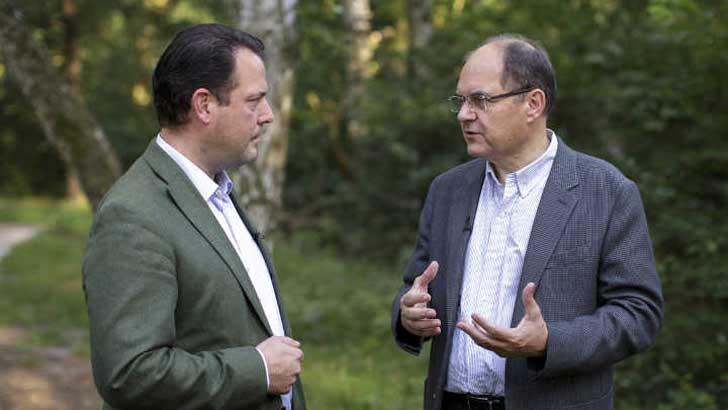 Philipp zu Guttenberg und Christian Schmidt