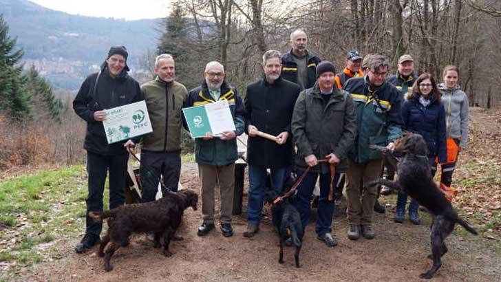 Team aus dem Forstamt