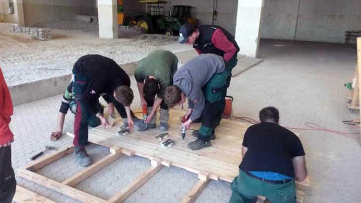 Erste Talentschmiede für Landschaftsbau in Bayern