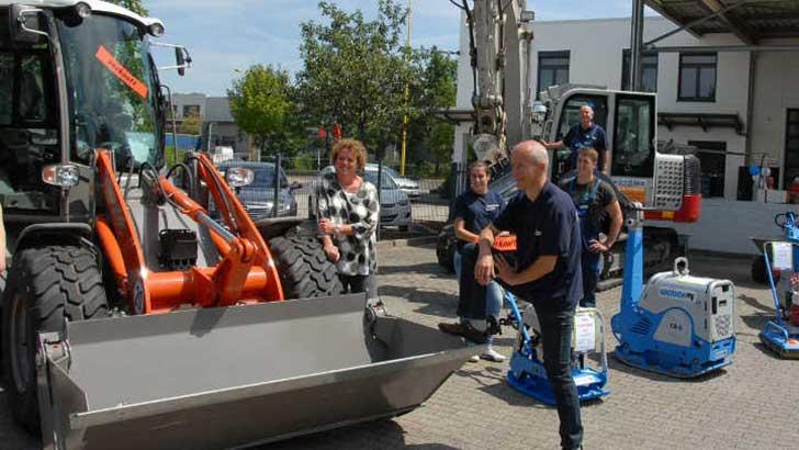 Nah am Kunden: Baumaschinenhändler Schmidt-Elsner eröffnet Niederlassung in Großbeeren