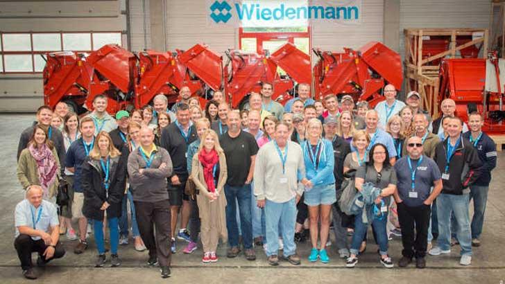 Vertriebsmeeting bei Wiedenmann